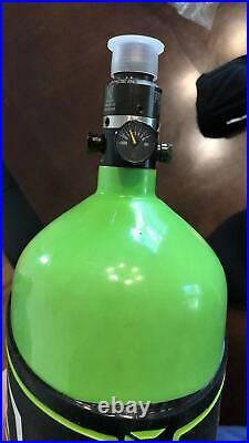 Ninja Carbon Fiber HPA Tank 77/4500 SL2 PRO V2 SLP REG Lime