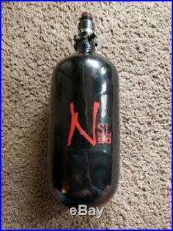 Ninja Carbon Fiber HPA Tank 90/4500 SL with PRO V2 REG