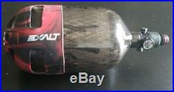 Ninja Lite Carbon Fiber Air Tank Grey Ghost 68/4500. With Exalt tank cover