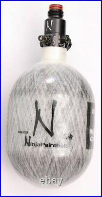 Ninja Paintball 4500 PSI Carbon Fiber HPA Tanks with Regulator