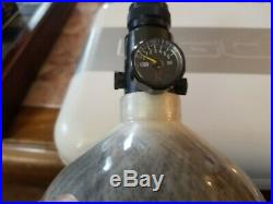Ninja Paintball Carbon Fiber Compressed Air Tank 68/4500
