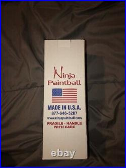 Ninja Paintball Lite Carbon Fiber 68/4500psi Air Tank With Free Luxe Tank Grip