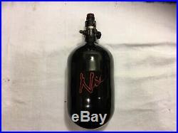 Ninja SL Black Carbon Fiber Air Tank 68/4500 WithPro V2 Regulator Made In USA