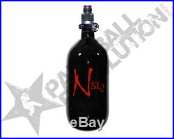 Ninja SL2 Black Red Carbon Fiber Air Tank 45/4500 w Pro V2 SHP Reg