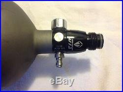 Ninja SL2 Paintball 68CI 4500PSI Carbon Fiber HPA Tank WithDye DTS Regulator