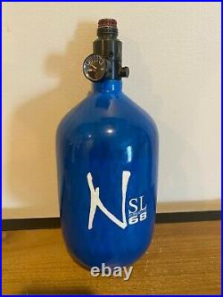 Ninja Sl 68/4500 Carbon Fiber Paintball Tank Blue