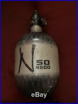 Ninja carbon fiber tank 50/4500