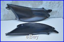 OEM Ducati Diavel Carbon Fiber Under Tank Side Panels cowl fairing 96903810A