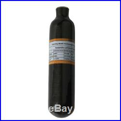 Outdoor PCP Paintball 4500psi 0.42L Universal Carbon Fiber Air Tank Cylinder CE