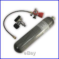 PCP Air Rifle 2L CE 4500Psi SCBA Paintball Tank 2018 Carbon Fiber Cylinder