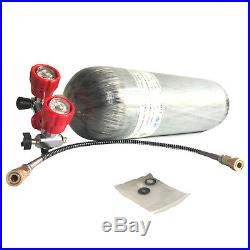 PCP Air Rifle 9L 4500Psi DOT Approved Carbon Fiber Tank SCBA Bottle