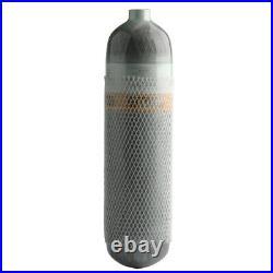 PCP Airgun 3L CE 4500Psi Scuba Tank Carbon Fiber Diving Cylinder withBackpack US