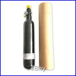 PCP Airgun Acecare 0.35L 30Mpa Carbon Fiber Cylinder Paintball Tank Regulator