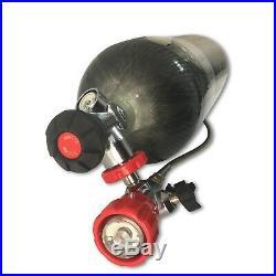 PCP HP Airgun Shooting 4500psi CE Cylinder 65 cu ft Carbon Fiber SCBA Tank 2020