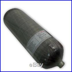 PCP Rifle 9L CE Carbon Fiber Breathing Air Tank 4500psi Scuba Cylinder M181.5