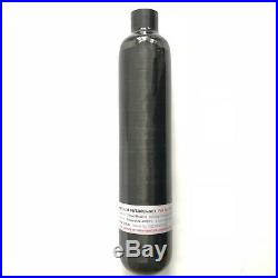 PCP Rifle NEW 500cc 300bar Black Carbon Fiber Hpa Tank Hunting Cylinder M181.5