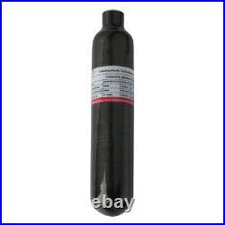 Paintball 4500psi 0.5L Air Tank M18x1.5 Threaded CE Carbon Fiber Cylinder 300Bar