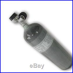 Paintball 6.8L 300Bar CE Carbon Fiber Air Tank Hunting Cylinder with Valve 2020