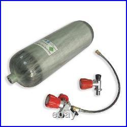Paintball 6.8L DOT 4500Psi Carbon Fiber Air Bottle PCP Scuba Tank Refill Kits