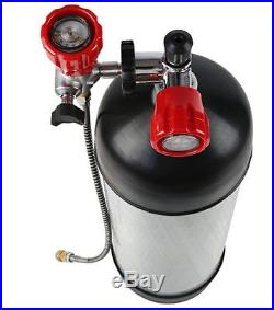 Paintball 9L CE 4500psi Carbon Fiber PCP Air Tanks SCBA Cylinder Fireman 2018