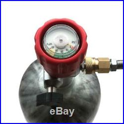 Paintball Airgun 3L CE 4500psi PCP HPA Tank Air Cylinder Carbon Fiber With Valve