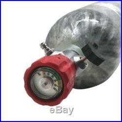 Paintball Carbon Fiber 3L CE 4500Psi Scuba Diving Bottle PCP Air Tank M18x1.5