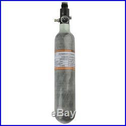 Paintball High Pressure PCP 0.5L CE 4500Psi Air Cylinder Carbon Fiber Tank+Valve