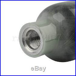 Paintball Hunting Carbon Fiber 0.5L 4500psi Air Tank Bottle Scuba Diving M18x1.5