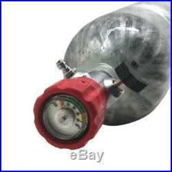 Paintball PCP Scuba Cylinder 4500psi 3L CE Carbon Fiber Tank with Regulator Vlave