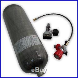 Pellet Air Rifle Carbon Fiber 9L CE 4500Psi SCBA Cylinder Pressure Tank Mfr 2018