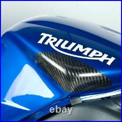 R&G Carbon Fibre Bike Tank Slider For Triumph 2010 Street Triple 675