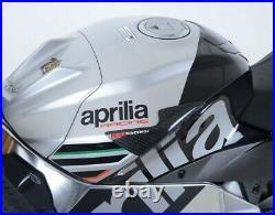 R&G Racing Carbon Fibre Tank Sliders to fit Aprilia RSV4 1100 Factory 2019