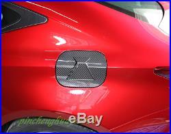 Real Carbon Fiber Fuel Tank Cap Gas Oil Box Cover Trim For Lexus RC200/300 15-19