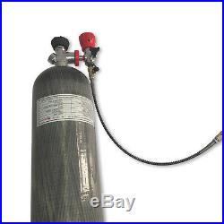 Rifle PCP 6.8L CE 30Mpa Balloon Carbon Fiber Scuba Tank Rescue Air Supplies Kits