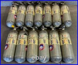 SCOTT 4500PSI 45MIN SCBA Carbon Fiber Tank BottleCylinder 2010 Snap-Change Valve