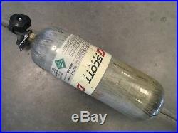 Scott 4500 PSI 45 Minute Carbon Fiber SCBA 45min Bottle Cylinder Tank 45 min