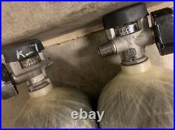 Scott 4500PSI 60MIN SCBA Carbon Fiber Bottle Tank Cylinder 2010 CGA347 Valve