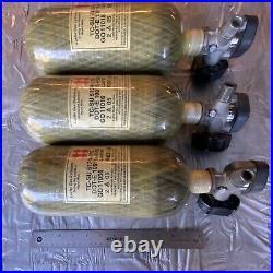 Scott 4500PSI SCBA Carbon Fiber Bottle Tank Cylinder 2005 CGA 347 PCP Air Gun
