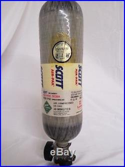 Scott 4500 PSI 60 Minute Carbon Fiber SCBA 60min Bottle