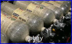 Scott Snap Change 4500PSI 45MIN SCBA Carbon Fiber Bottle Tank Cylinder 2010
