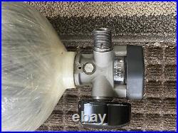 Scott scba 60 min 4500 psi carbon fiber tank production date August 2013