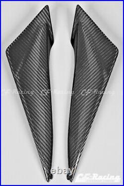 Suzuki GSX-R600 & GSX-R750 Gas Tank Side Panels (2011-2019) Carbon Fiber