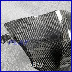 Suzuki GSXR1000 2017-2018 Carbon Fiber Tank Cover Twill Weave Pattern