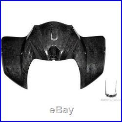 Tank Cover Shined Carbon Fiber Lea Components Yamaha 1000 Fz1-n/na'06/'10