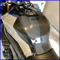 Tank Protector Guard Carbon Fit For Yamaha YZF-R1 2015-2019 Body Fairings Frame