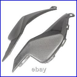 Tank Side Fairing Panel Gas Trim Cover Cowl Carbon Fiber for Honda CBR 1000 RR
