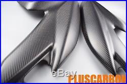 Tank Side Panels Ducati Hypermotard Hyperstrada 821 939 Carbon Fiber MATT