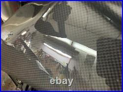 Tank pad in carbon fiber 100% carbon Aprilia SXV RXV 450 550