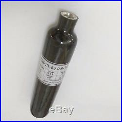 Top Quality Carbon Fiber 0.5L 300bar 4500psi PCP Cylinder Paintball Bottle