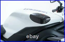 Triumph Daytona 675 2013-2016 R&G Racing Carbon Fibre Tank Sliders TS0017C